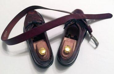Schuhe passend zum Gürtel?