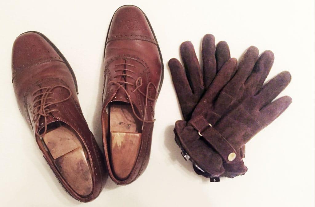 Handschuhe farblich zu den Schuhen?
