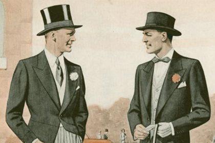 Knopfloch? Die Frage ist , trägt Mann überhaupt noch etwas im Knopfloch?