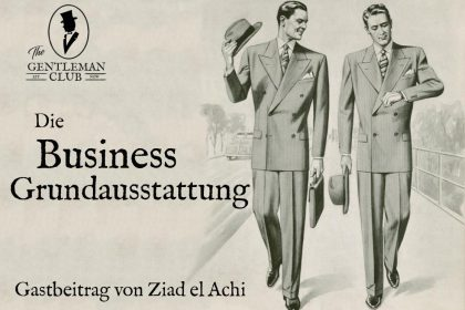 Die Business Grundausstattung
