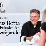 Einzeigeruhr Interview mit Klaus Botta